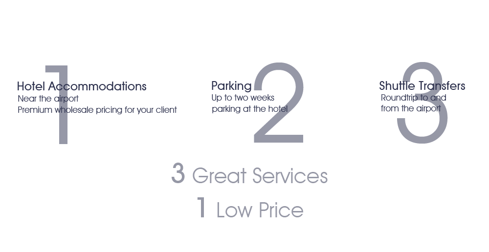 3 Great Services, 1 Low Price
